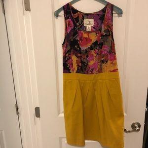 Anthropologie Tabitha Floral Dress